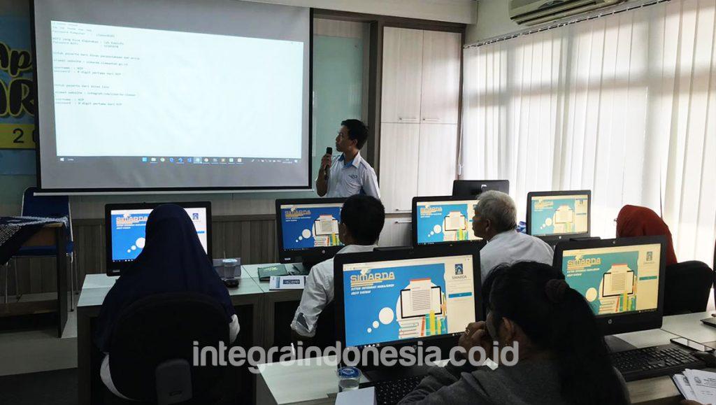 Bimbingan Teknis Aplikasi Simarda Kabupaten Sleman